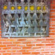Εσωτερικό μνημείο ΑΠΘ, έργο του Ξενή Σαχίνη